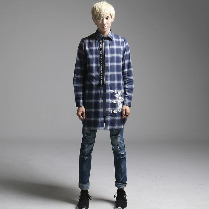 K-POP Men's Fashion Style Store [TOMSYTLE]  [DV] FUXK OFF NB / Size : FREE / Price : 70.44 USD #dailylook #dailyfashion #casuallook #tops #shirt #TOMSTYLE #OOTD  http://en.tomstyle.net/