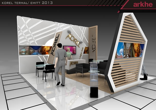Korel Termal Exclusive Exhibition Stand Design @ Fair İstanbul Turkey | Arkhe…