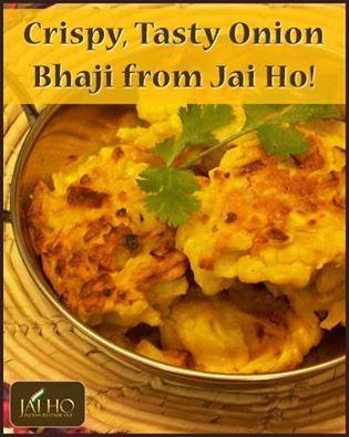 Crispy, Tasty Onion Bhaji from Jai Ho!