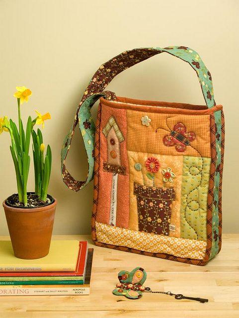 SpringTime Bag by PatchworkPottery, via Flickr