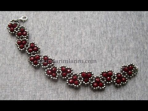 Necklace from Taki Tasarimian  ~ Seed Bead Tutorials