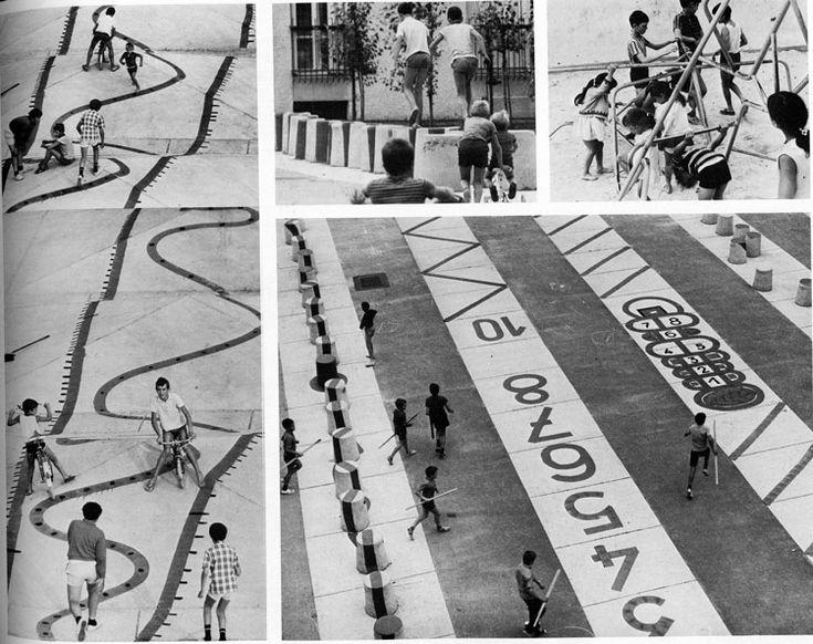 Architektur für Kinder, Playground in Nangis, 1970
