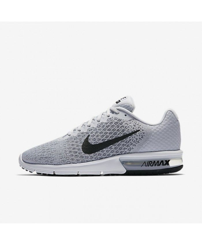 Nike Air Max Sequent 2 Pure Platinum Cool Grey Wolf Grey Black 852461-002
