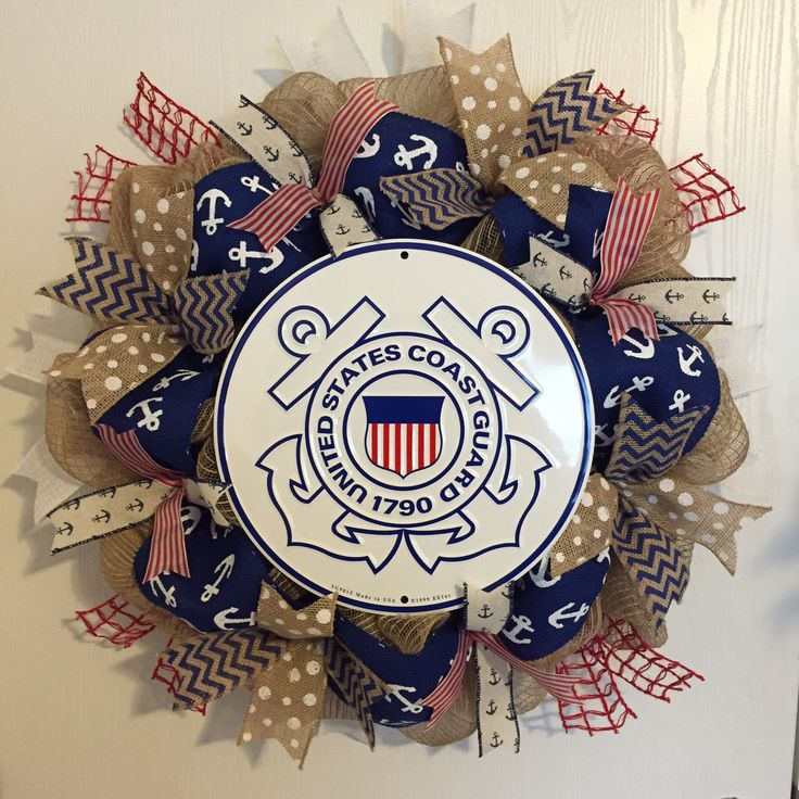 Coast guard wreath