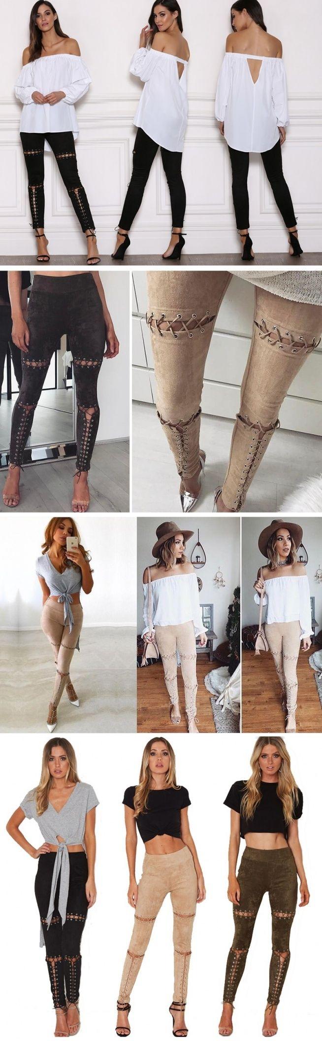 Mega legginsy, ze sznurowaniami jak w gorsecie :) Kliknij w zdjęcie i zobacz gdzie kupić !