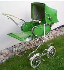 Bilderesultat for vintage barnevogner
