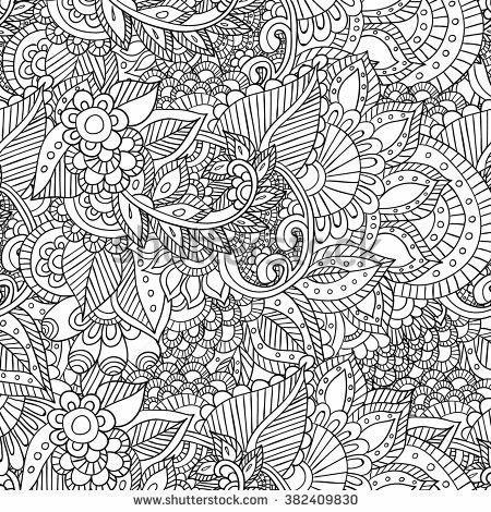 Paginas Para Colorear Adult Coloring Pages Octopoda Dibujado A Mano