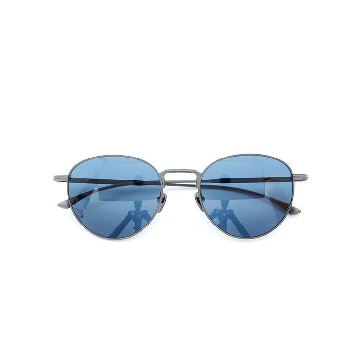 MASUNAGA designed by Kenzo Takada |Sunglasses| Dent de lion #19 BK-Matt 53size 100-Limited-edition | PonMegane #kenzotakada #sunglass #masunaga #ponmegane