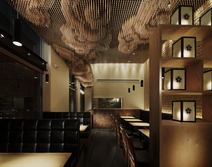 Tsujita restaurant by Takeshi Sano, Los Angeles