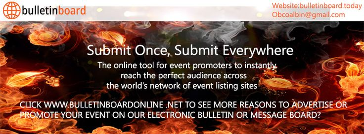 Bulletin Board is the most trusted source to publish your events & ads. Bulletin Board provides the events & ads regarding entertainment, holidays, political and press etc. If Client needs more information and want Contact number of Bulletin Board. They can get answers for their relevant queries, you can call us on 206-6026610 OR Visit your website for more details : http://bulletinboard.today/