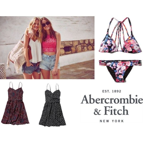 The A&F Summer Getaway Giveaway: Contest Entry by ve-ethnic-channel on Polyvore featuring Abercrombie & Fitch
