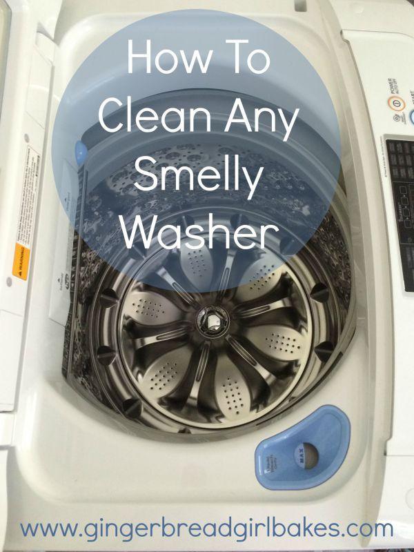top loading washing machine smells like mildew