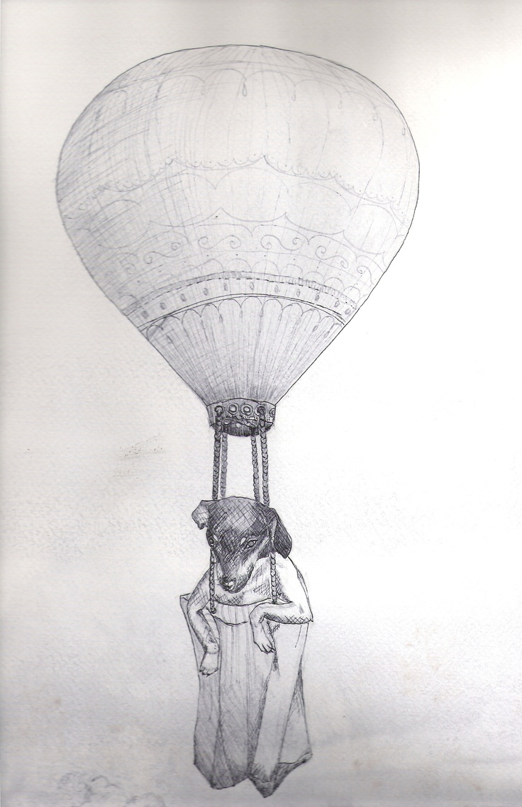 Julieta en su globo.