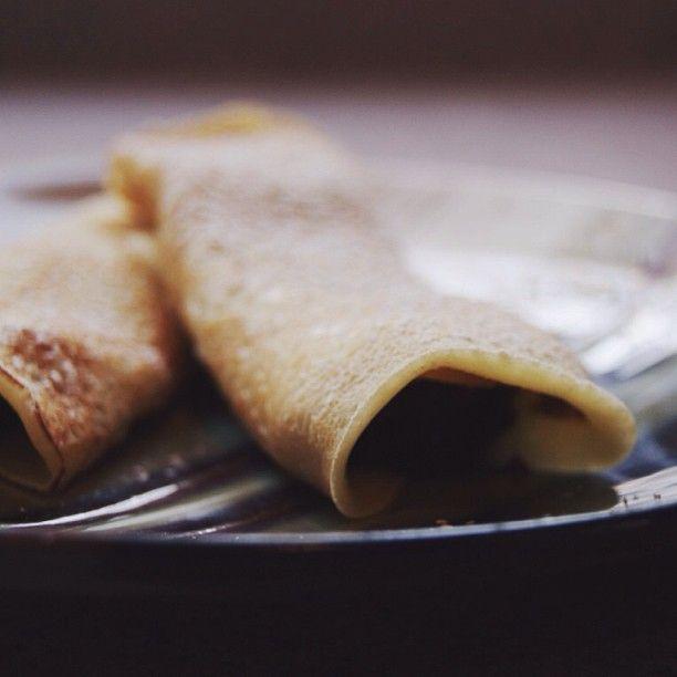 Lemon Blueberry Crepes & Lemon Curd Recipe from Abundantly More | My ...