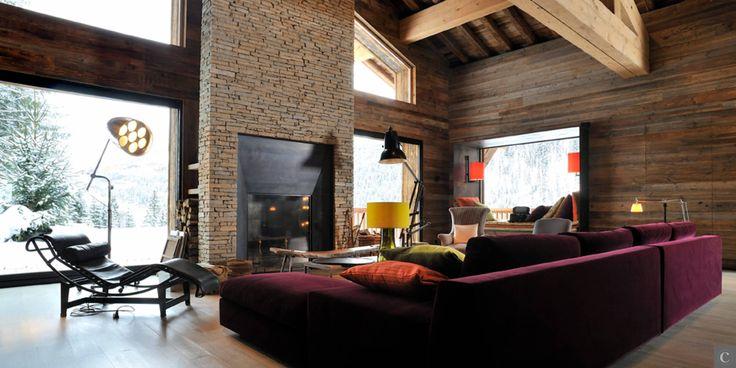9149 best escalier d coration chalet maison ou for Appartement design ski