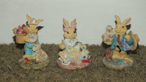 Buy Ornament - Family of Bunnies - Set of 3 for R150.00