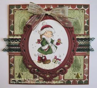 Nellie Snellen Christmas card