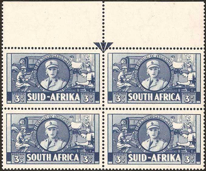 1942 South Africa war effort stamp