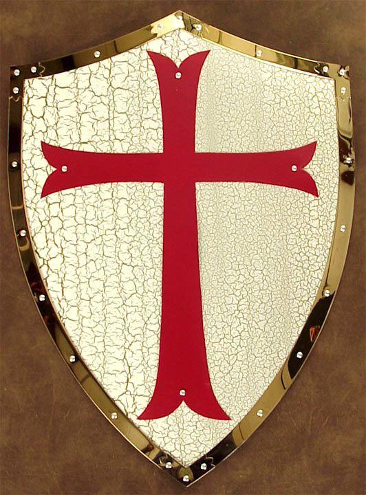 Knights Templar:  #Knights #Templar shield.