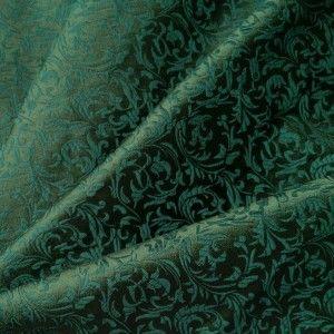Brokát ornamenty, zelený