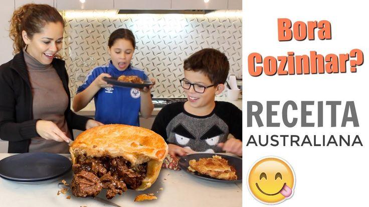 Receita Torta De Carne Australiana Abrasileirada... kkkk
