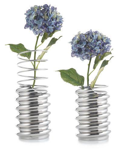 Ringoletto Spiral Platinum Vase