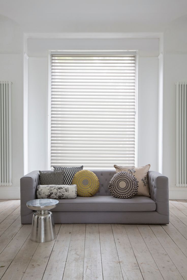 Luxaflex® Silhouette® Shades take the harshest sunlight and smoothly transform…