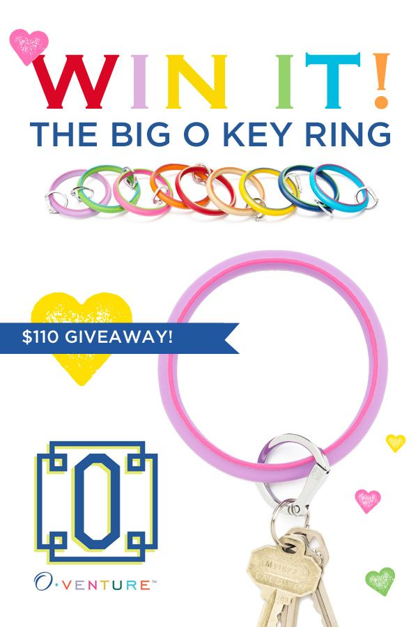 {SURPRISE GIVEAWAY} Enter to win The Big O Key Ring from O.Venture! #Giveaway: Hostess Gifts