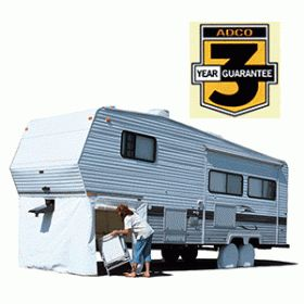 ADCO 3501 - Adco 5th Wheel Skirt 64 H X 236 Polar White 3501 - RV Plus. $162.99