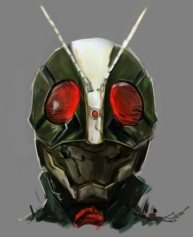 Kamen Rider 2 | Kamen Rider: The FIRST || 仮面ライダー2号|仮面ライダーThe FIRST by: novicekid, via deviantart