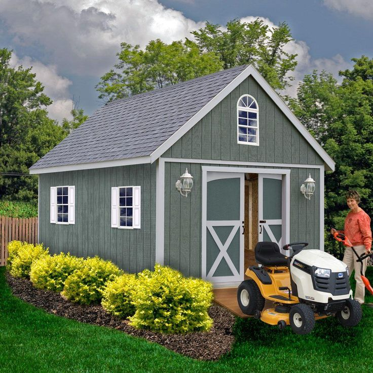 Best 25 garden shed kits ideas on pinterest sheds for Storage shed kits