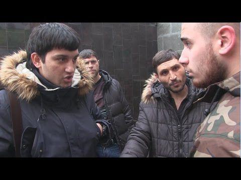 Yeminli Sözlük - Ruslar Kaldırımlarına Sahip Çıkıyor: Stop A Douchebag
