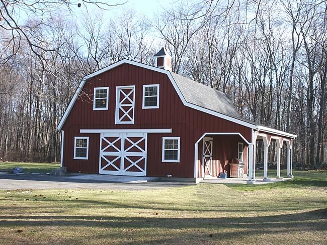 15 best building pole barn images on pinterest pole for Gambrel roof pole barn kits