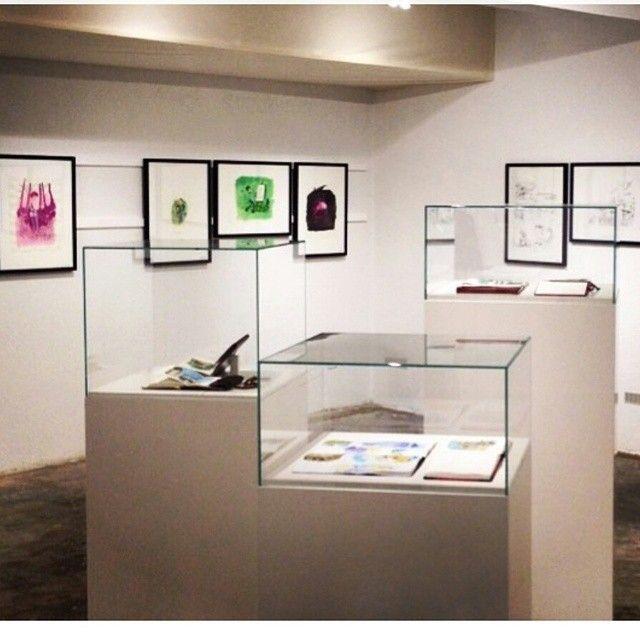 View of the gallery, Zep à Montreux exhibition, Janus Gallery, Montreux.