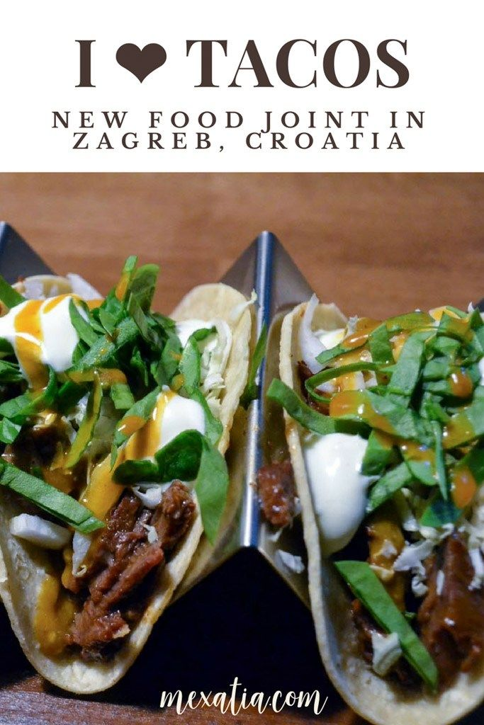 Tacos And Burger Barr in Zagreb, the very first taco place in the town | Mexatia