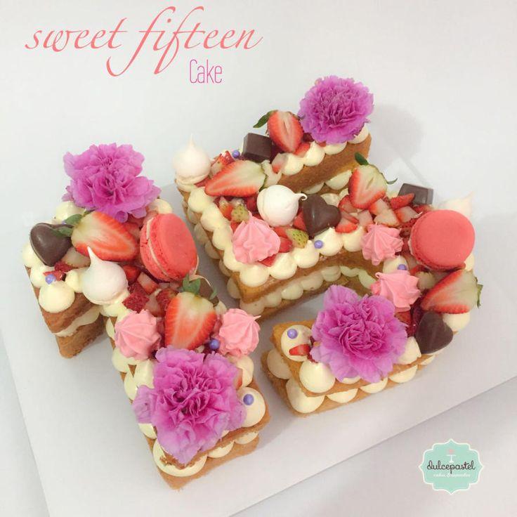 Torta Número Flores by Giovanna Carrillo