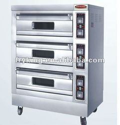 3 Layers 6 trays Bakery Equipment Food Oven 4