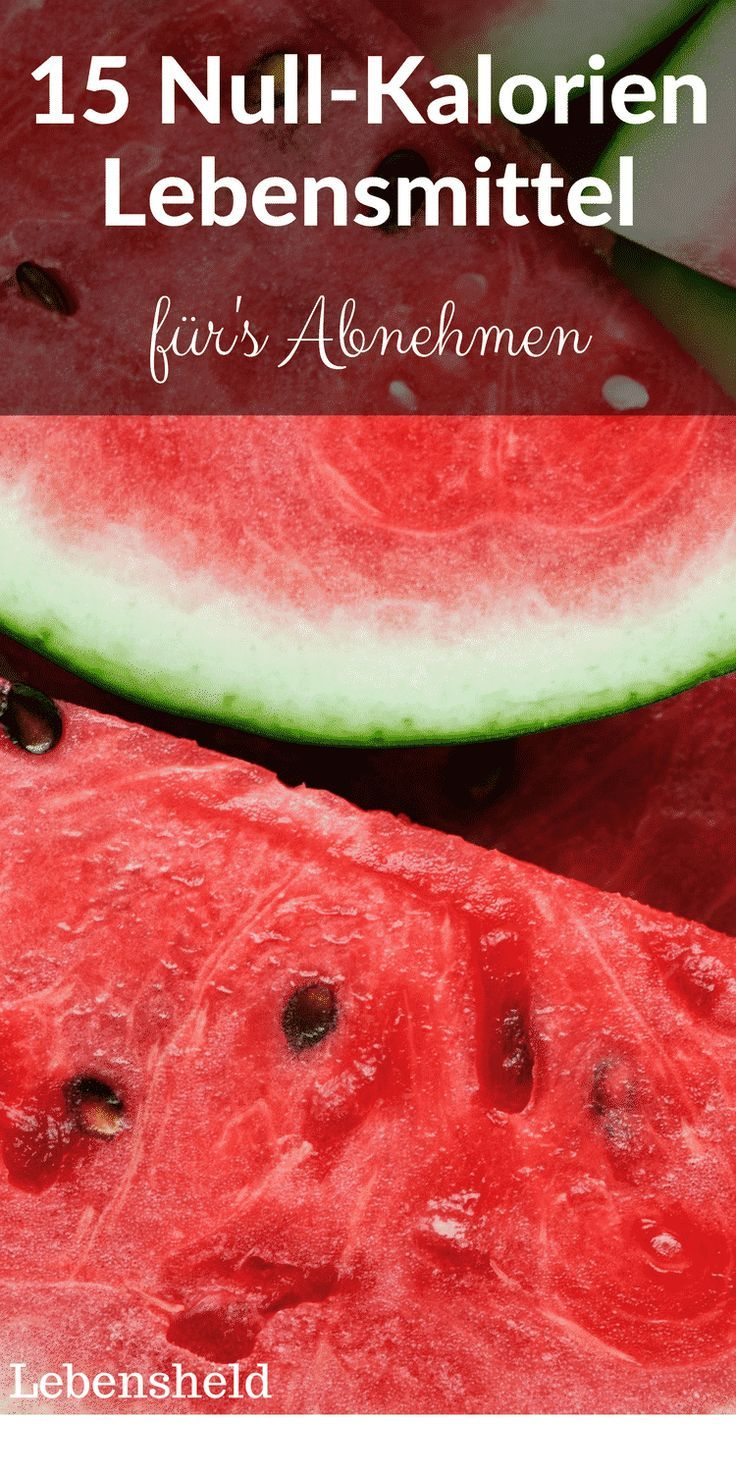 Lebensmittel Mit Negativen Kalorien