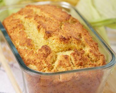Cake au jambon, gruyère, moutarde et persil
