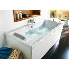 104 best images about renovation ideas on pinterest toilets soaking bathtu - Baignoire retro castorama ...