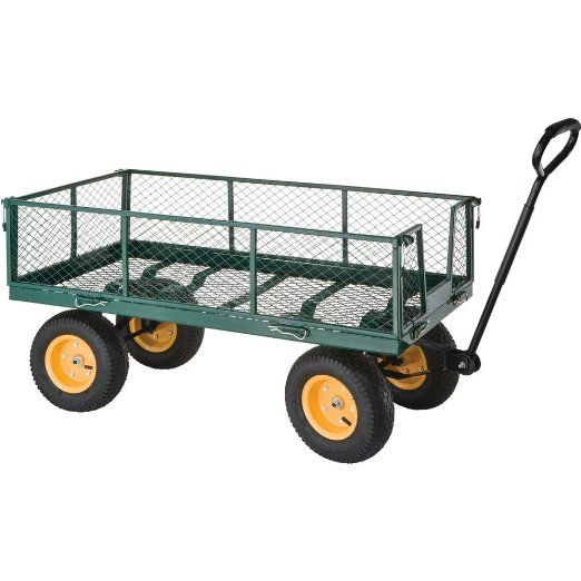 Grizzly H0771 Folding Side Garden Wagon