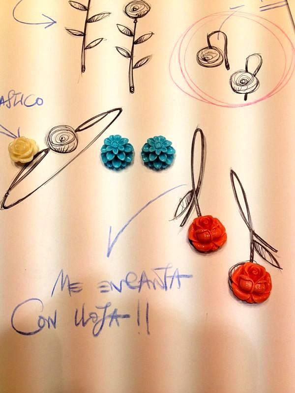 Designing Jewels by Isidoro Hernández. In Saleta's Shop!