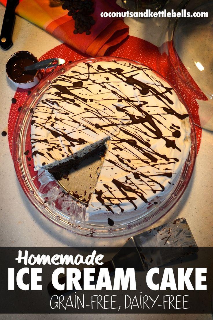 Homemade ice cream cake recipe homemade ice cream cake