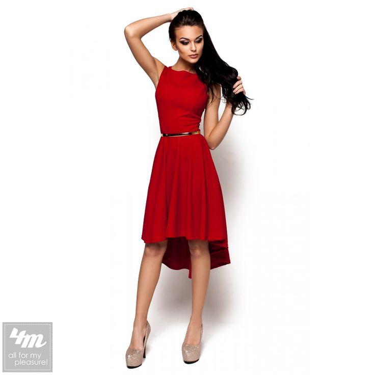 Платье Karree «Астрея» (Красный) http://lnk.al/4uYG  Платье из стрейчевого трикотажа с легкой фактурой приталенного кроя без рукавов, юбка-клеш с удлинением по спинке, золотистый пояс на талию в комплекте  #платьеналето #платье #платья #платьемечты #платьевналичии #платьявналичии #платьекупить #платьевмногонебывает #платьемечта #платьенедорого #платьенакаждыйдень #платьянакаждыйдень #платьеонлайн #платьядлясчастья #платьяукраина #платье2017 #платьелето #4m #4mcomua