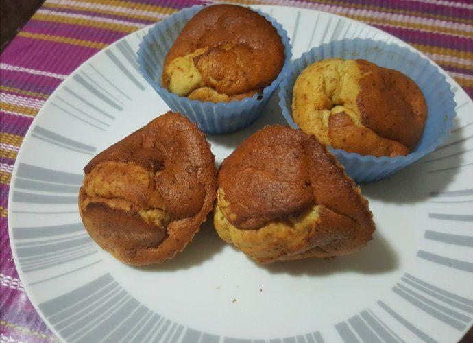 Magdalenas de plátanos para #Mycook http://www.mycook.es/cocina/receta/magdalenas-de-platanos