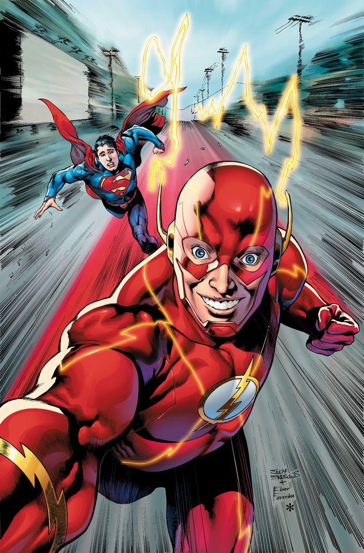 Eddy Barrows - Flash vrs Superman