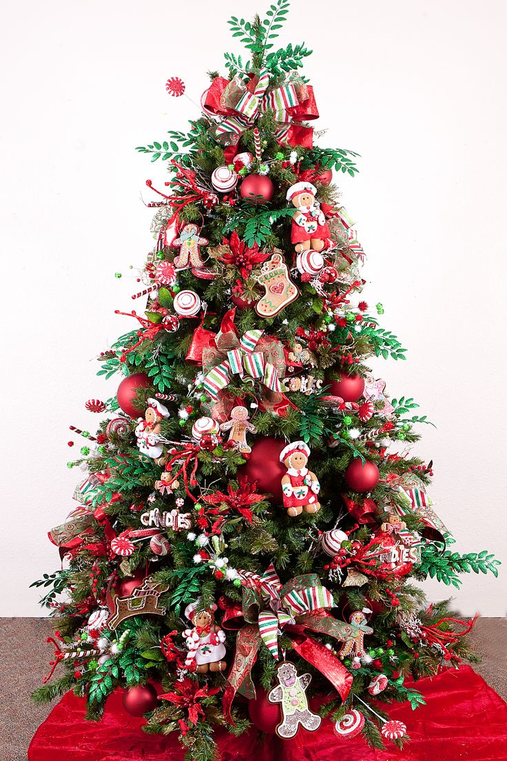 Beautiful Christmas Decorated Living Rooms: 187 Best Images About Christmas Trees Decorated On
