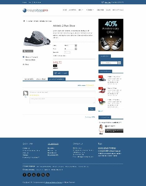 7 best LCS JustShoes PrestaShop Theme (Pro) images on Pinterest - product review template