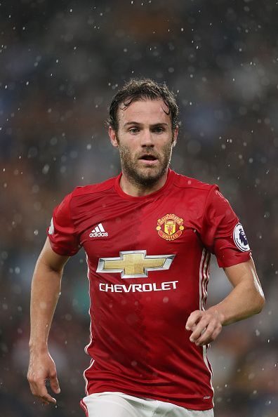 Juan Mata of Manchester United during the Premier League match between Hull City…