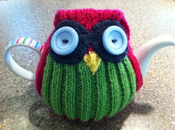 Tea Cosy - Owl (first attempt).
